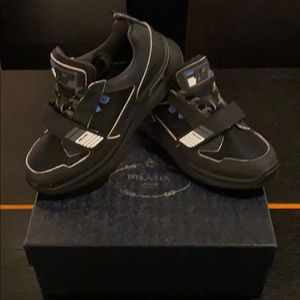 Prada Men's Trek Strap Sneaker